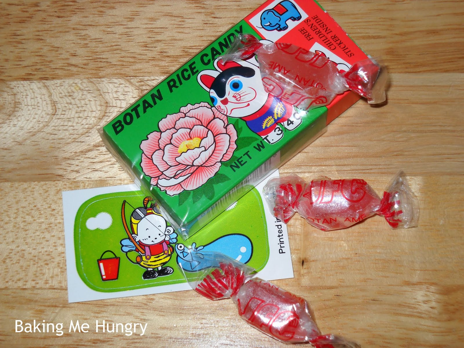 Permen botan rice candy