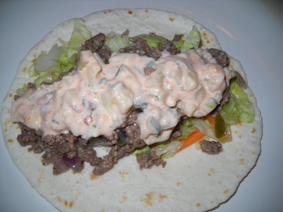 Lamb Tacos with Chili-Tzatziki