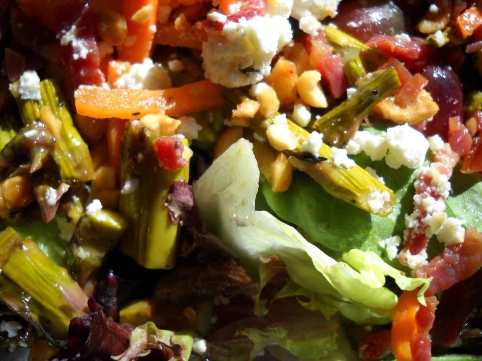 Sonoma Grape and Prosciutto Salad