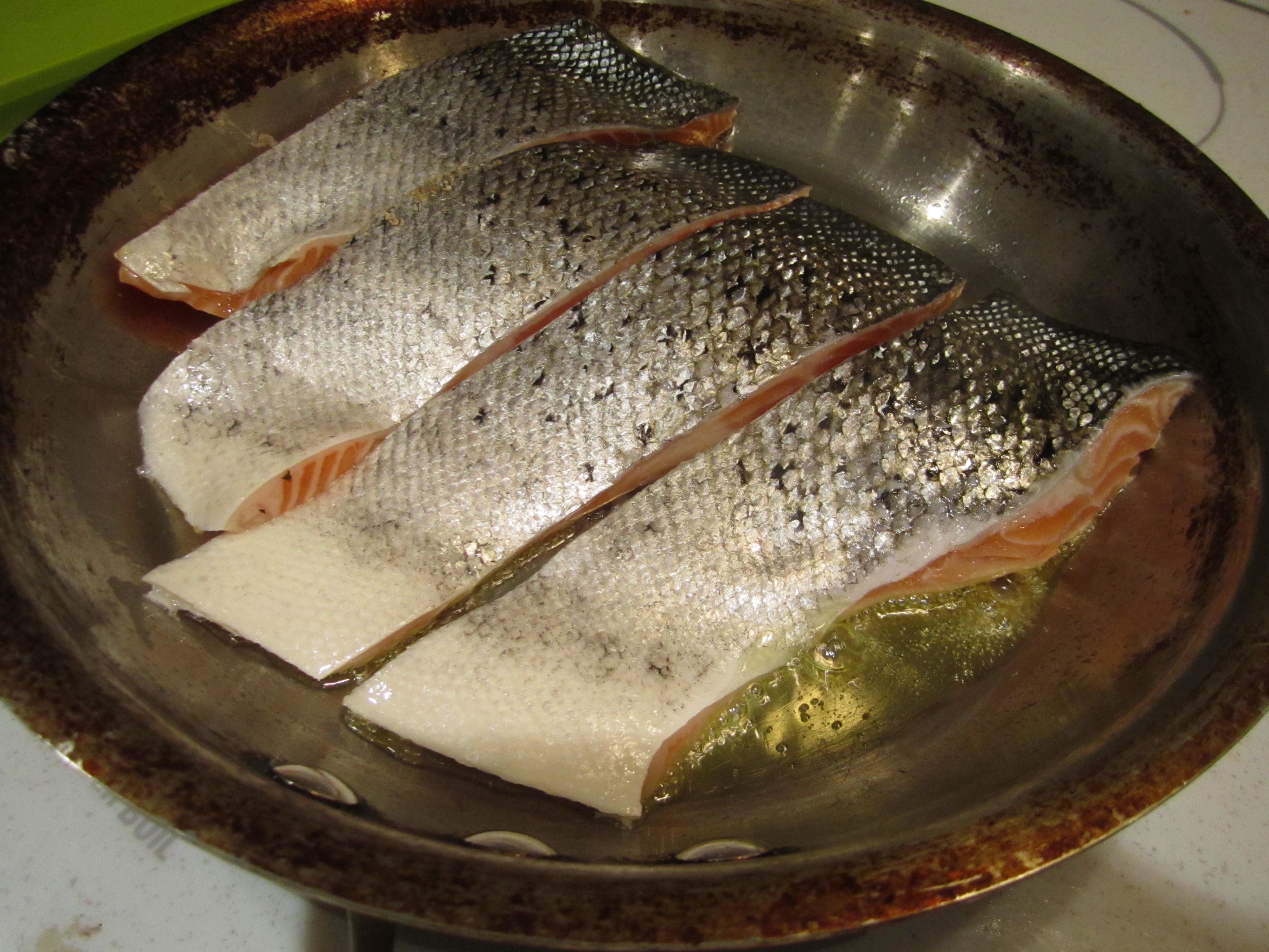 Pan Fried Salmon Bakingmehungry