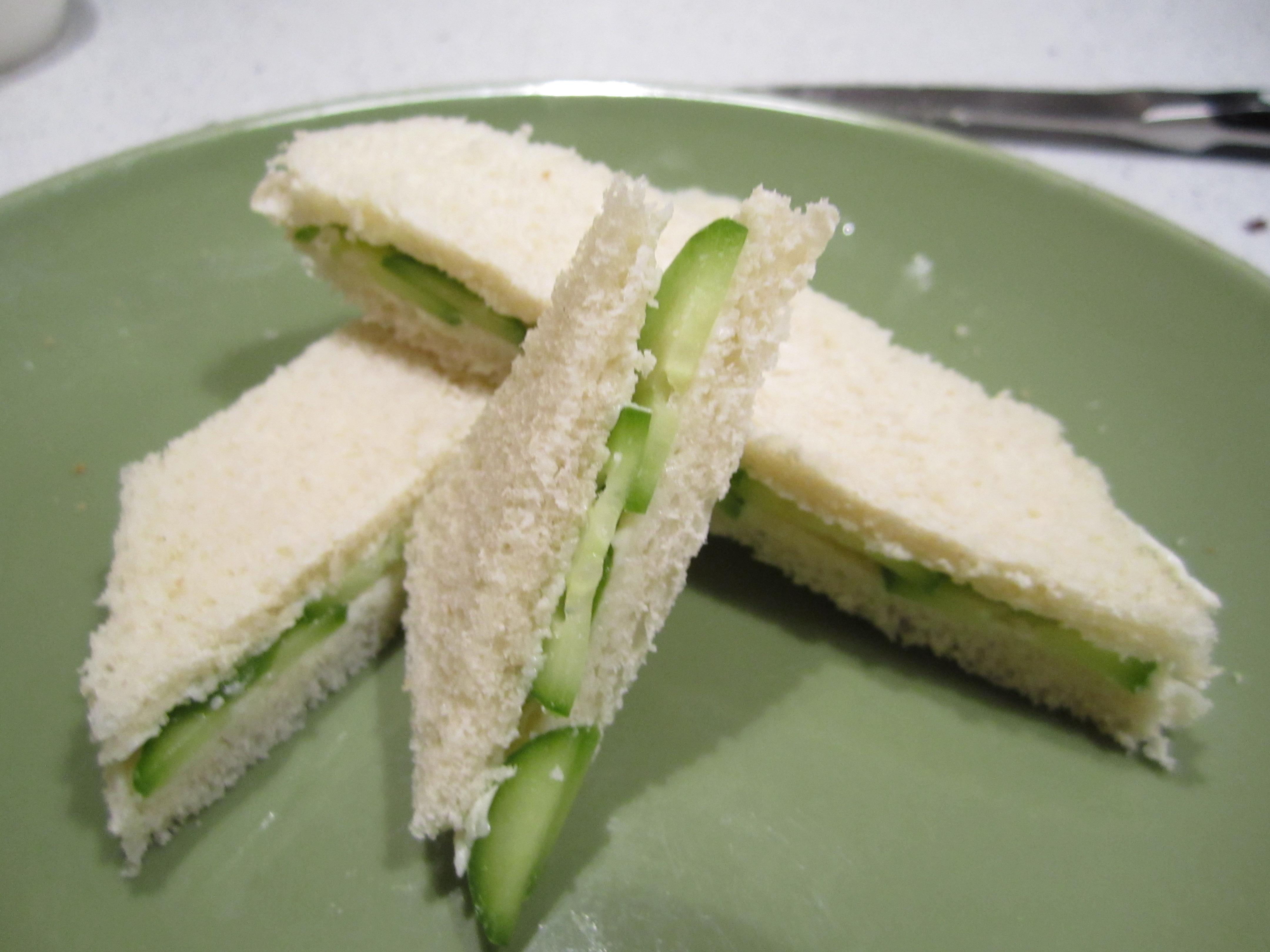 Cucumber Sandwiches – BakingMeHungry
