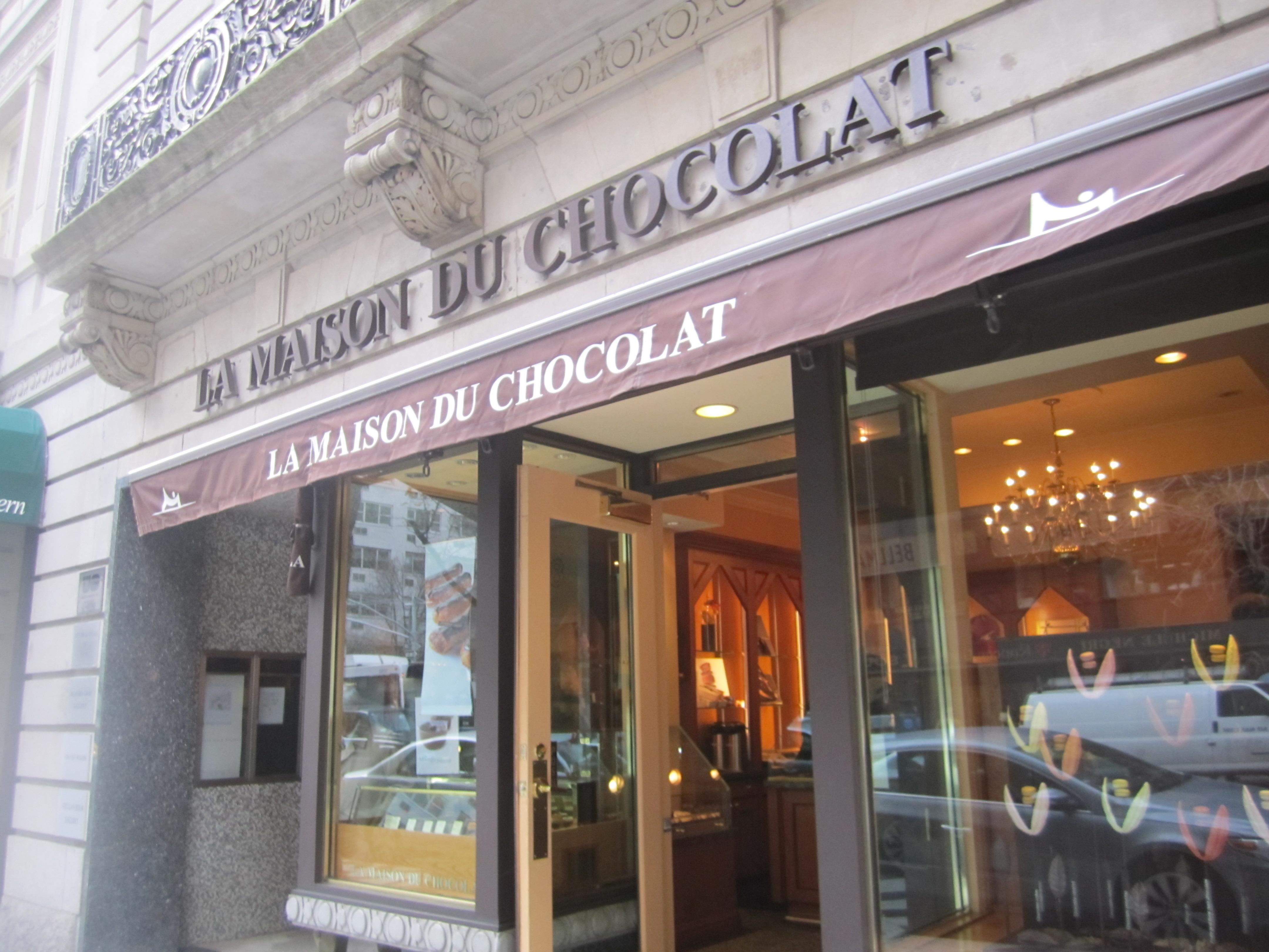 La maison du chocolat upper east side new york city for Macarons la maison du chocolat
