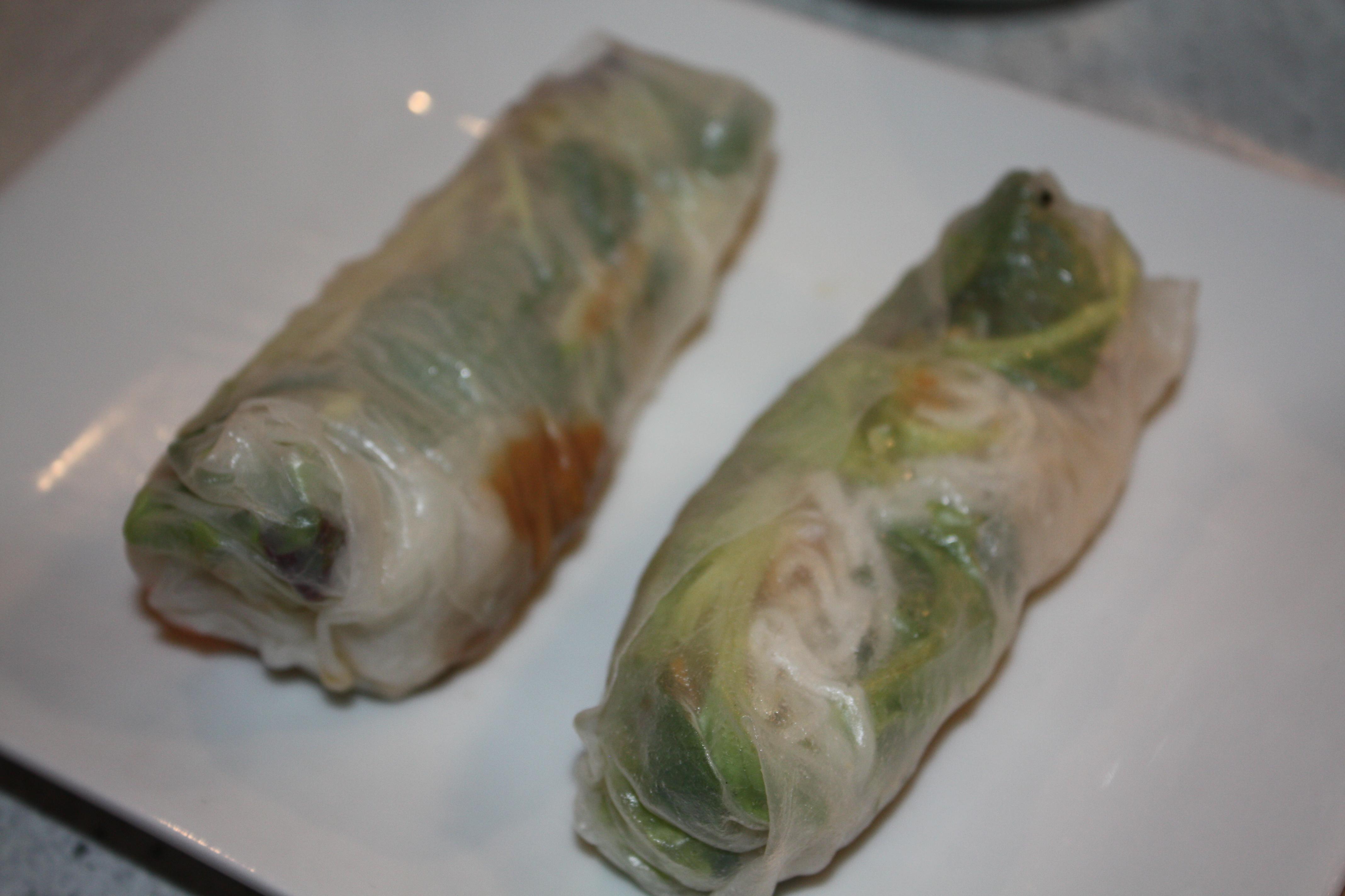 Vietnamese Fresh Vegetarian Fresh Rolls (Gỏi Cuốn Chay ...