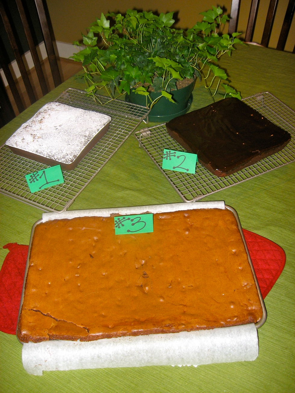 Finished Brownies